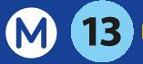 ligne metro 13